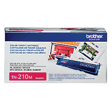 Brother TN 210M Magenta Toner Cartridge