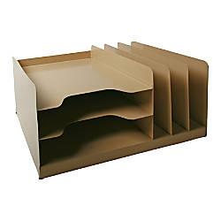 Steel Desk Combo Beige AbilityOne 7520