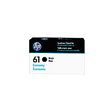 HP 61 Economy Yield Black Ink