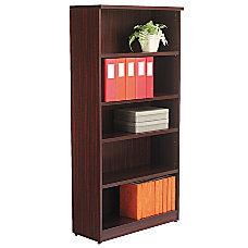 Alera Valencia Series Bookcase 5 Shelves