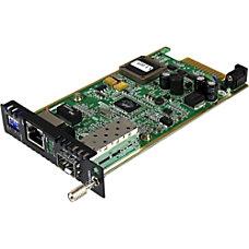 StarTechcom Gigabit Ethernet Fiber Media Converter