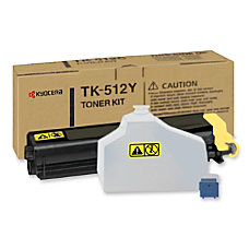 Kyocera Yellow Toner Cartridge Laser 8000
