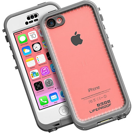 Lifeproof iphone 5c nuud case by office depot officemax - Fundas lifeproof ...