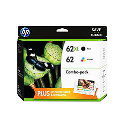 hp 6262xl blackcolor ink cartridge combo pack f6u01fn140 by office depot officemax. Black Bedroom Furniture Sets. Home Design Ideas