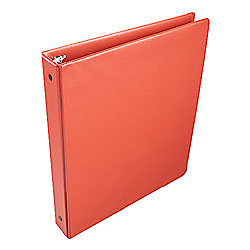 Office depot brand deluxe locking round ring binder with for Depot ringcenter