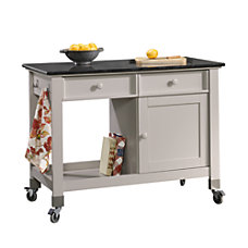 Sauder 2 Drawer Wood Mobile Kitchen