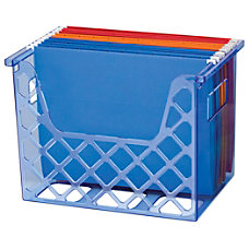 Officemate Blue Glacier Desktop File Organizer