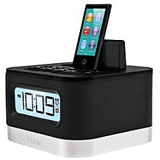 iHome iPL8BNX Clock Radio Apple Dock