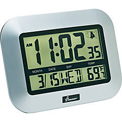 SKILCRAFT LCD Digital Display Clock Digital