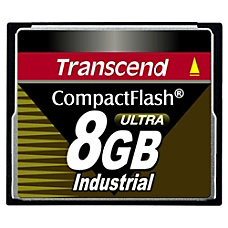 Transcend 8GB Ultra Speed Industrial CompactFlash