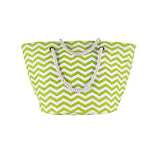 Orbit Cloth Chevron Tote 15 H
