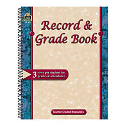 Teacher Created Resources Record And Grade