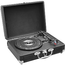 PylePro Retro PVTT2UBK Record Turntable