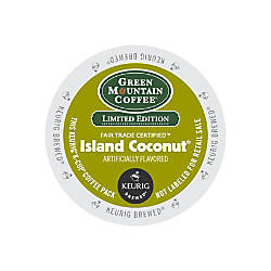 Green Mountain Coffee Island Coconut Coffee