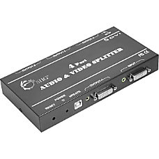 SIIG 1x4 DVI Audio Splitter