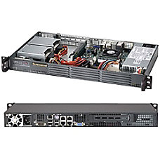 Supermicro SuperChassis 504 203B Black