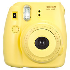 Fujifilm Instax Mini 8 Camera Yellow