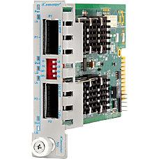 iConverter 10 Gigabit Ethernet Fiber Media