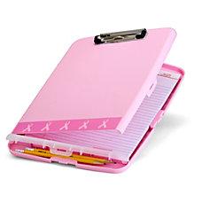 Breast Cancer Awareness Slim Clipboard Storage