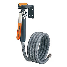 EMERGENCY DRENCH HOSE UNIT WALL MOUNTE