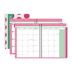 Divoga Academic WeeklyMonthly Planner 8 12