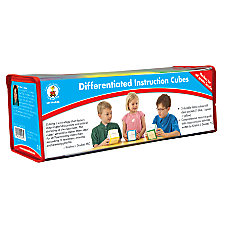 Carson Dellosa Differentiated Instruction Cubes