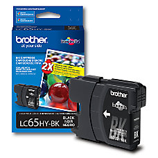 Brother LC65HY BK High Yield Black