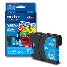Brother LC65HY C High Yield Cyan