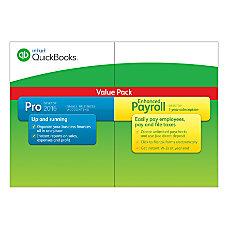 QuickBooks Pro With Enhanced Payroll Bundle