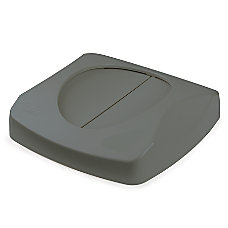Rubbermaid Untouchable Swing Lid Gray