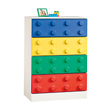 Sauder Primary Toy Block Furniture 4