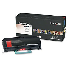 Lexmark E460X21A Extra High Yield Black