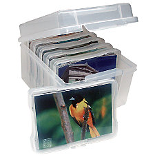 Advantus Photo Keeper Storage Box 8
