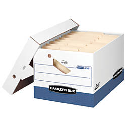 Bankers Box Presto Storage Boxes LetterLegal