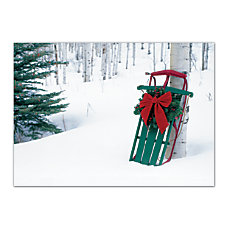 Personalized Holiday Cards FSC Certified 7
