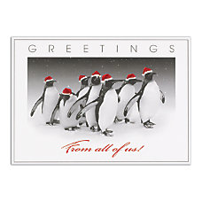 Personalized Customer Appreciation Holiday Cards FSC