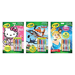 Crayola Coloring And Activity Pad With