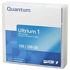 Quantum LTO Ultrium 1 Prelabeled Tape