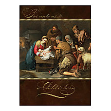 Personalized Religious Holiday Cards FSC Certified