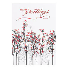 Personalized Holiday Cards FSC Certified 5
