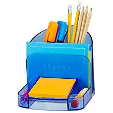 Officemate Blue Glacier Deluxe Desk Organizer