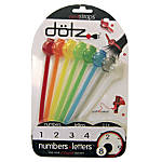 Dotz Cord Straps Multicolor Pack Of