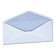 Universal Business Envelopes With Gummed Flap