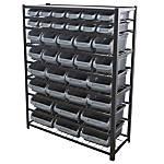 Edsal Bin Storage Rack 36 Bins