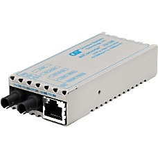 miConverter 10100 Plus Ethernet Fiber Media