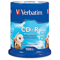 Verbatim 94712 CD Recordable Media CD