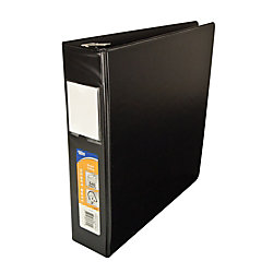 Office depot brand deluxe locking d ring binder 2 rings for Depot ringcenter