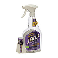 SKILCRAFT JAWS Bathroom CleanerDeodorizer Kit Violet