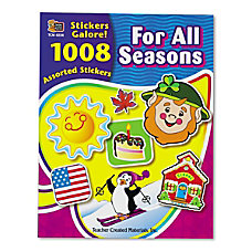 Teacher Created Resources Sticker Book Assorted