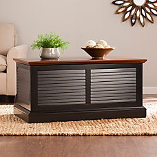 Southern Enterprises Abram Louvered Trunk Cocktail
